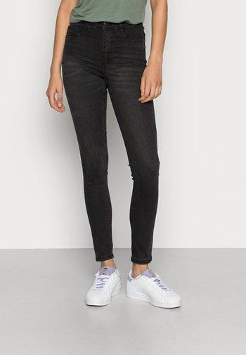 HIGHWAIST - Jeans Skinny Fit - off black