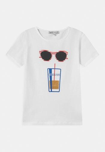 SUNGLASS - T-shirt imprimé - white