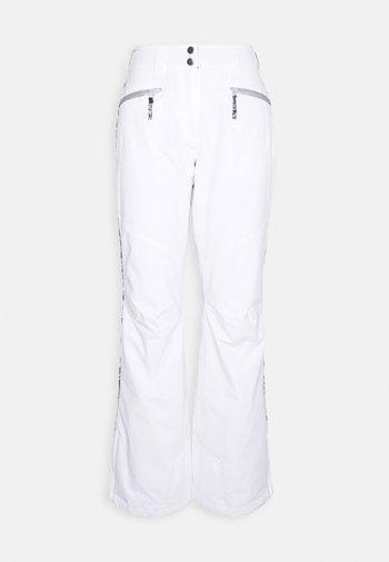 CHASE - Snow pants - optic white