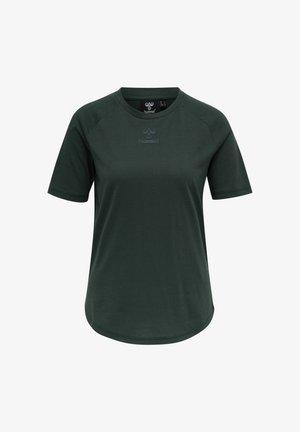 HMLVANJA - T-shirt basique - darkest spruce