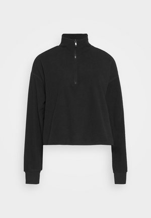 MOLLY - Fleece jumper - black