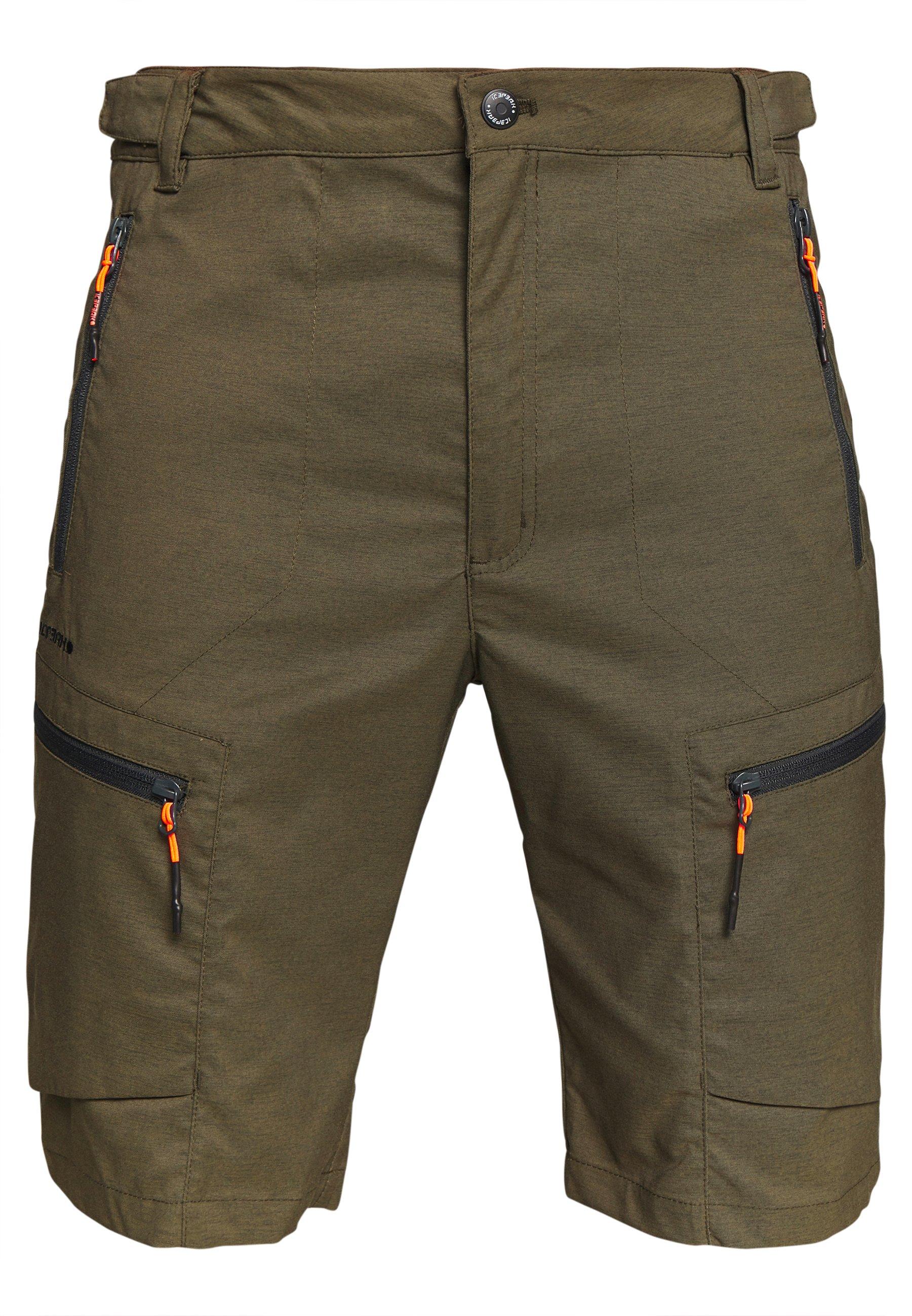 Icepeak CARLTON - Shorts outdoor - dark olive