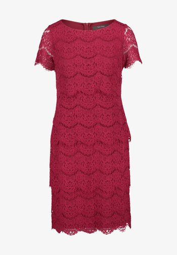 Shift dress - ruby red