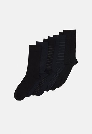 SOCKS 7 PACK - Socks - black/dark blue