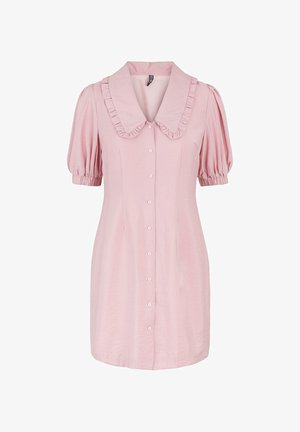 Shirt dress - misty rose