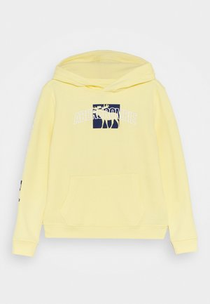 PRINT LOGO - Mikina - pale yellow