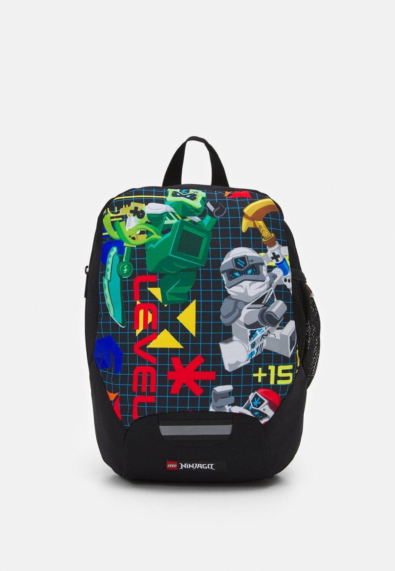 Lego Bags - RASMUSSEN KINDERGARTEN BACKPACK UNISEX - Reppu - black/multi-coloured