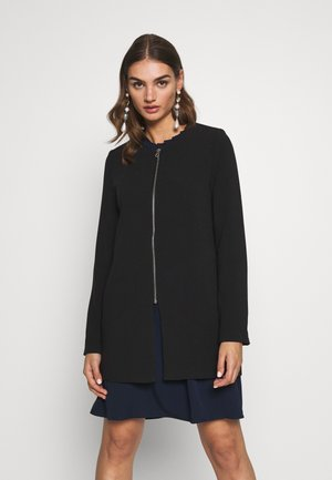 ONLJOYCE SPRING COAT - Abrigo corto - black