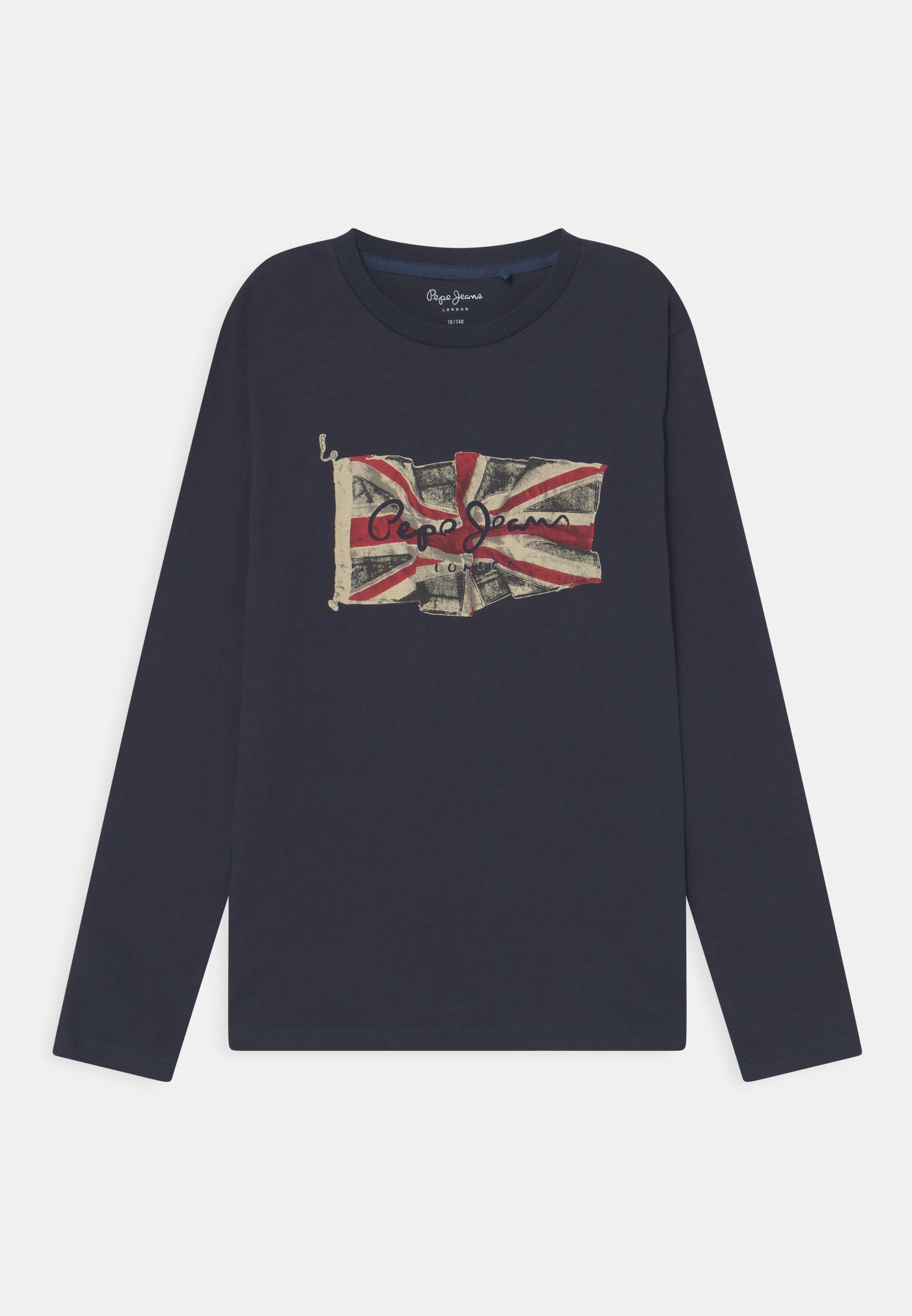 Kinder FLAG LOGO JR - Langarmshirt