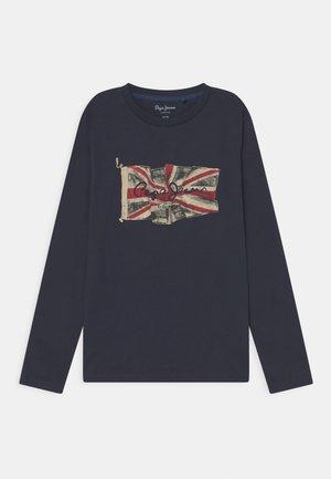 FLAG LOGO JR - Langærmede T-shirts - ink