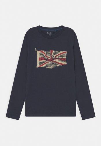 FLAG LOGO JR - Maglietta a manica lunga - ink