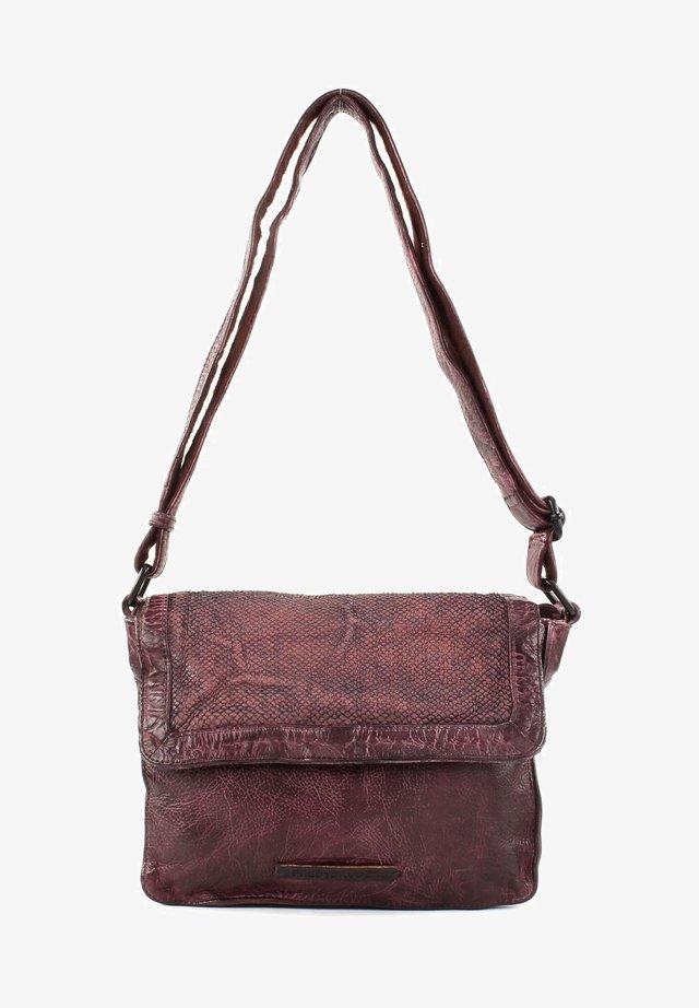 SCALE GOODY - Across body bag - maroon