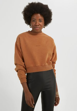 BENTE  CROPPED - Sweater - vintage old whiskey