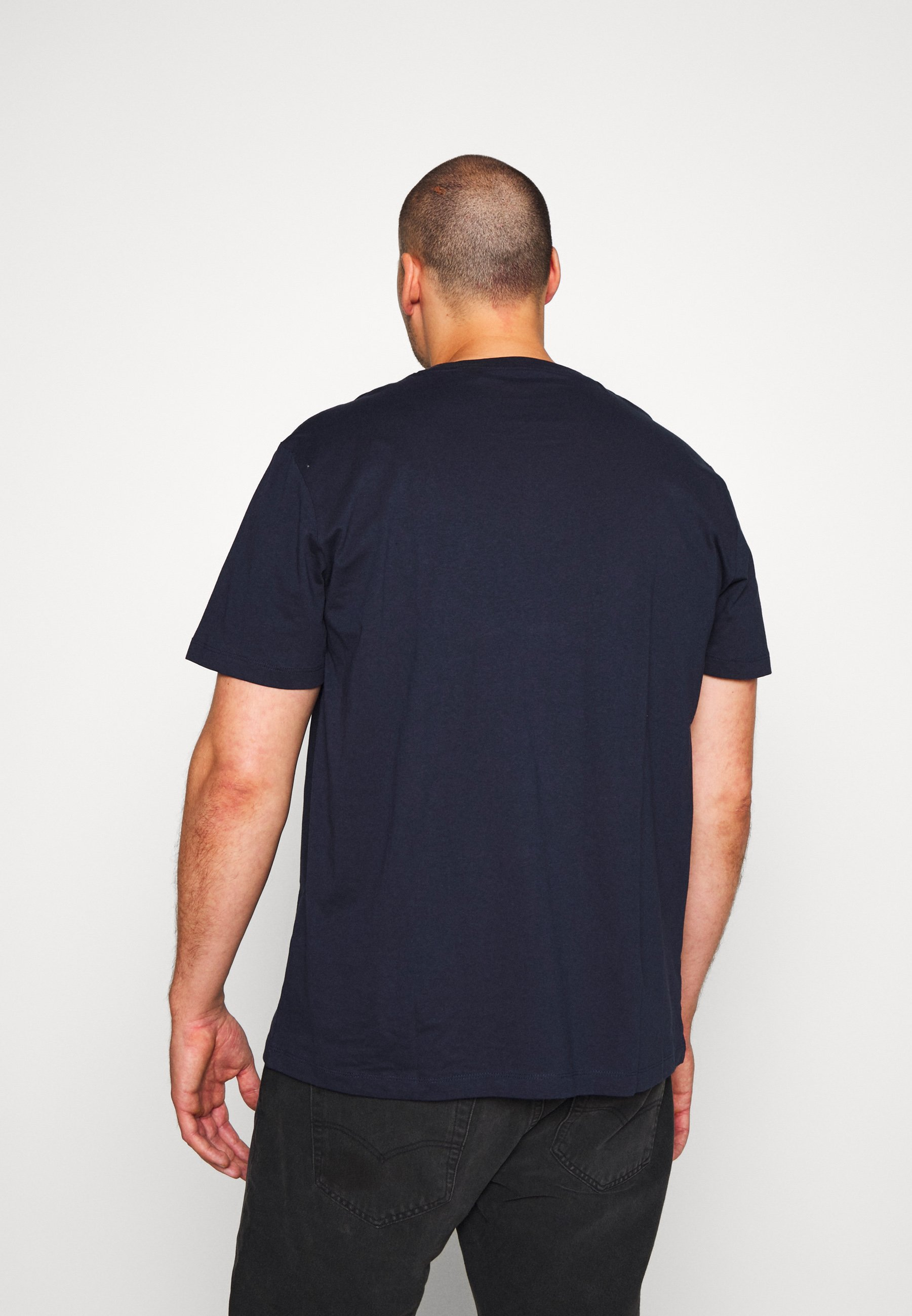 s.Oliver Print T-shirt - medieval blue gcXel