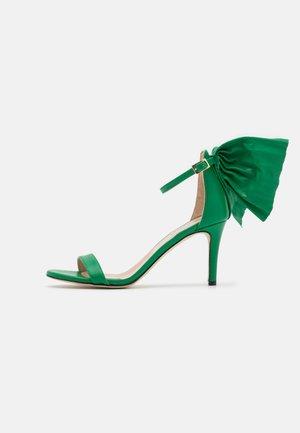 PALMA  - Sandalen met hoge hak - green