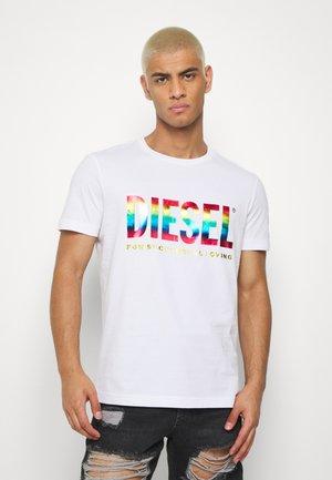 PRIDE BMOWT-DIEGO-NEW - Print T-shirt - white