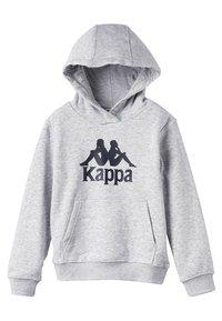 Kappa - TOPEN UNISEX - Pantaloncini sportivi - grey melange - 3