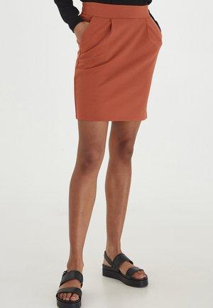 IHKATE - Mini skirt - hot sauce