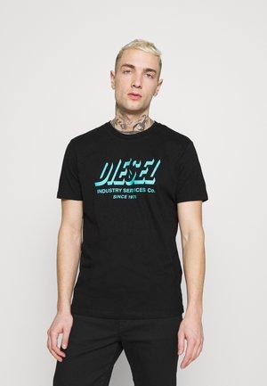 DIEGOS UNISEX - T-shirt con stampa - black
