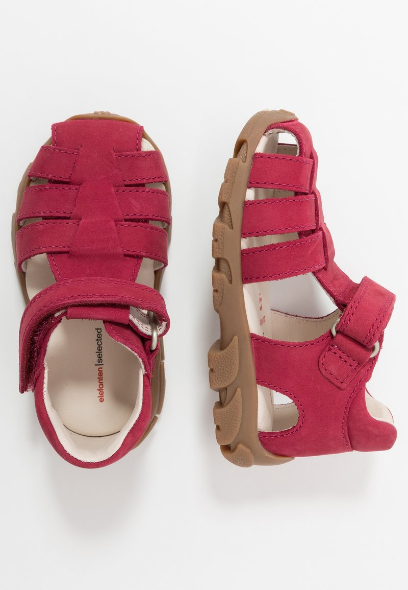 Elefanten - FIDO - Baby shoes - burgundy red