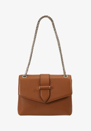 MARIA MEDIUM CHAIN BAG - Bandolera - cognac