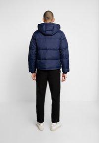 Hollister Co. - PUFFER HOOD  - Winter jacket - navy - 2