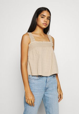 FRANKIE TANK TOP - Bluser - safari