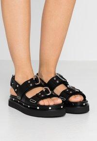 3.1 Phillip Lim - ALIX - Platform sandals - black - 0
