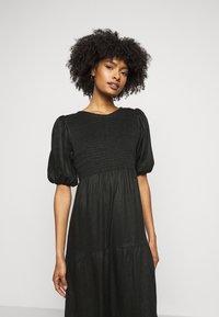 Faithfull the brand - ALBERTE DRESS - Denní šaty - plain black - 3