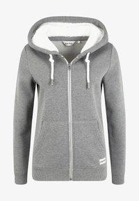 Oxmo - BINJA - Zip-up hoodie - grey melange - 5