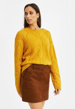 GROF - Jumper - mustard yellow