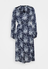 BCBGMAXAZRIA - DAY LONG DRESS - Denní šaty - pacific blue flora - 0