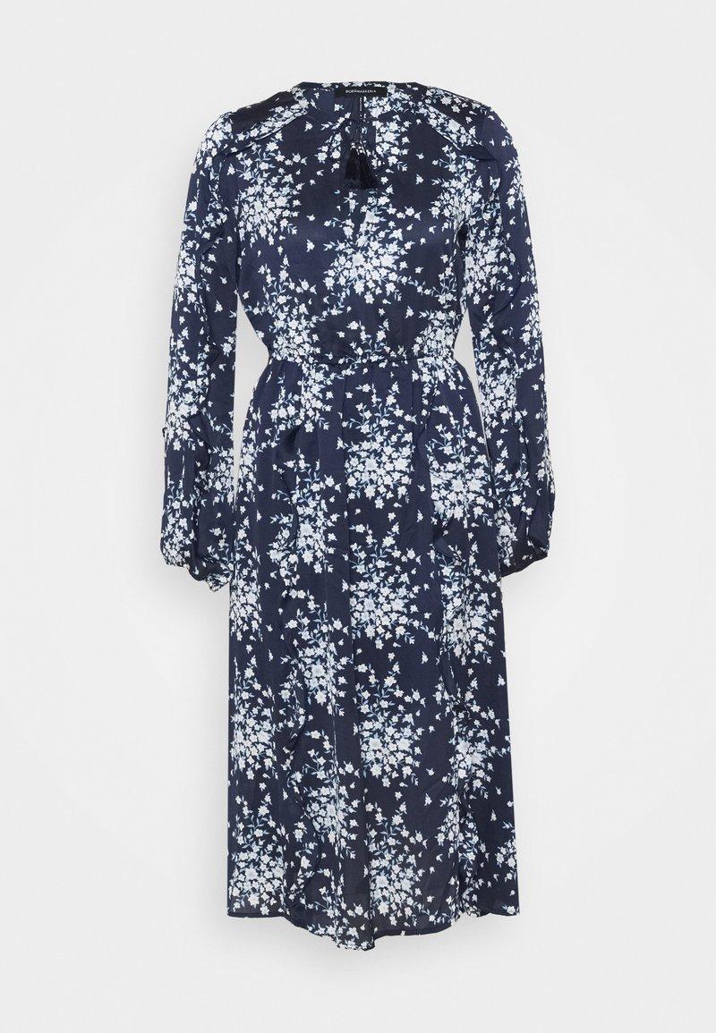 BCBGMAXAZRIA - DAY LONG DRESS - Denní šaty - pacific blue flora