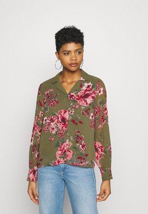 VMNEWSUNILLA - Button-down blouse - kalamata