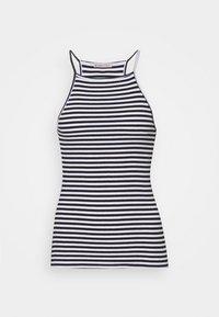 Anna Field Tall - 2 PACK - Topper - white/black - 1