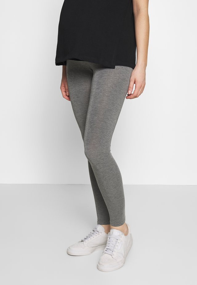 TAMMY OVERBUMP - Leggings - grey