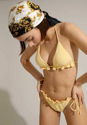 Bikini top - blassgelb