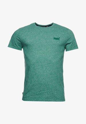 VINTAGE  - Basic T-shirt - bright green grit