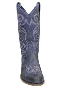 Sendra - Cowboy-/Bikerlaarzen - blauw - 5