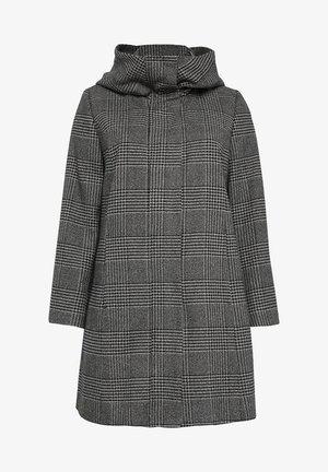 Short coat - black/grey