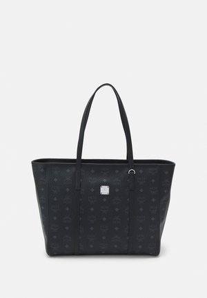 TONI E/W SHOPPER IN VISETOS - Tote bag - black