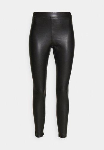 FAUX - Pantalon classique - black