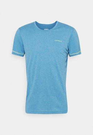 BOGEN - T-shirt med print - blue