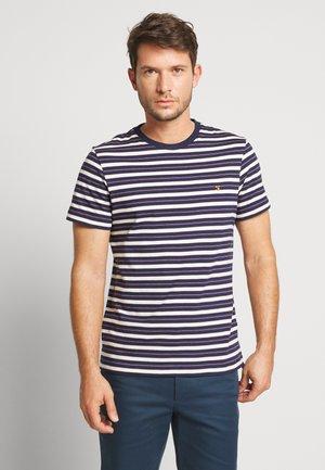 MANSOUR TEE - Print T-shirt - true navy