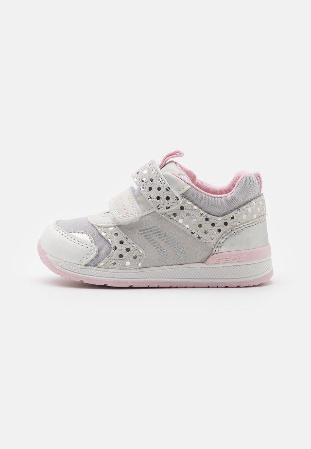 RISHON GIRL - Sneaker low - white/silver