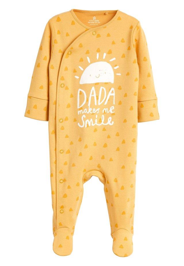 OCHRE SUNSHINE DADA SLEEPSUIT (0-18MTHS) - Pyjamas - yellow