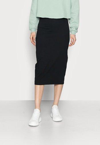 2 PACK - Pencil skirt - dark blue/black