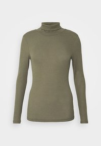Pieces - PCPIPPI LS ROLLNECK TOP - Long sleeved top - sea turtle - 3