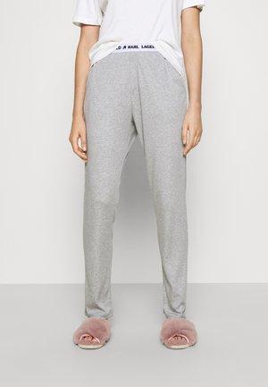LOGO PYJAMA TROUSER - Pyjama bottoms - grey melange