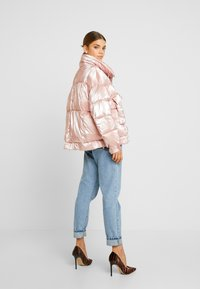 Sixth June - OVERSIZED CHEST POCKET - Winter jacket - pink - 2